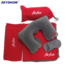 3 in1 Travel Pillow Set Airline Travel Accessories