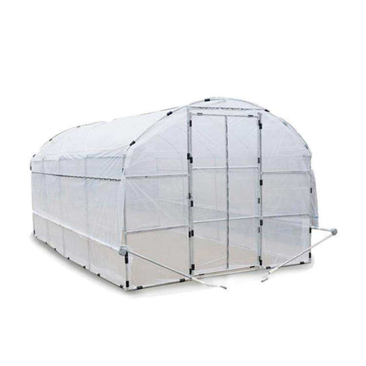 Tunnel Plastic /PE Flim Greenhouse For Vegetables / Flower