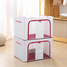 Heavy Duty Non Woven Organizer Home Large Clothes Storage Box For Cloth
