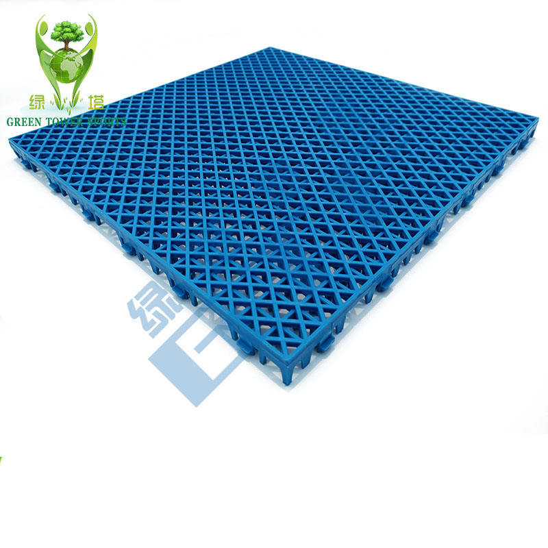 High Density PP Badminton Court Removable Sports Flooring Interlocking