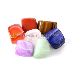 Wholesale Healing Crystal 7 Chakra Stone Set Tumbled Stone for Sale
