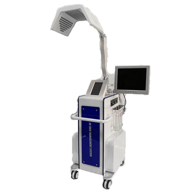 led light therapy / therapy pdt factory price/ pdt water oxygen beauty machine