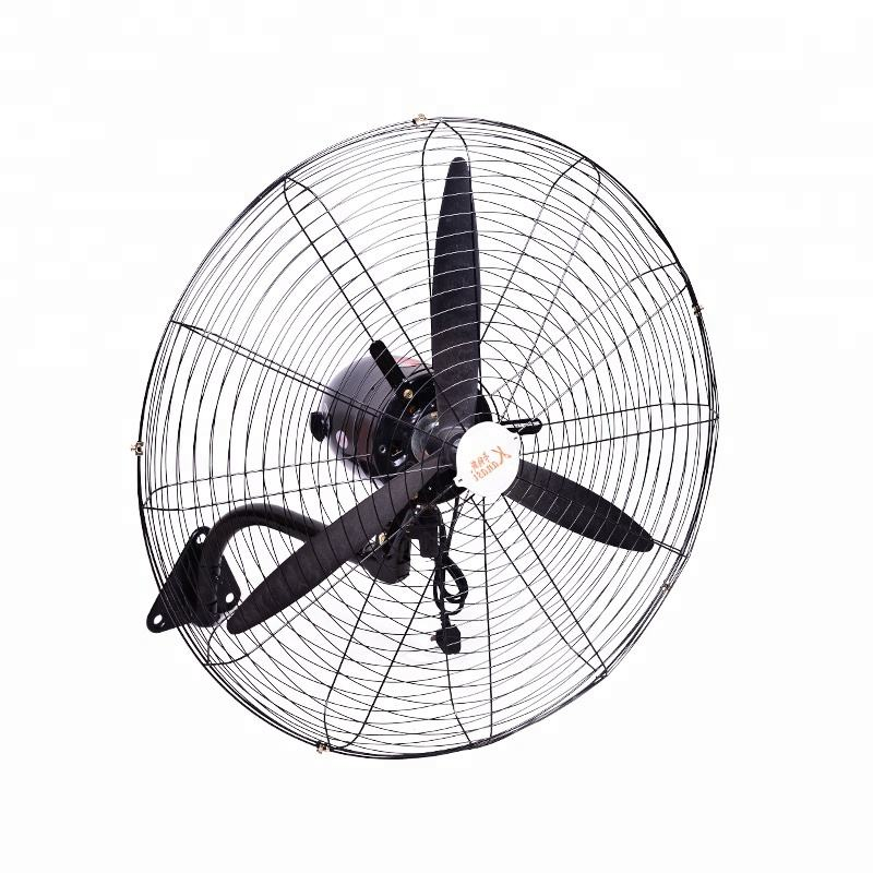 20 26 30 Inch Industrial Big Size Cheap Electric Motor Mounted 3 Blades 110v Wall Fan