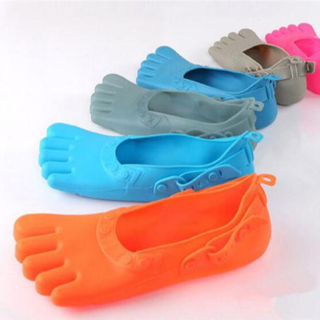2018 Hot sales fashion 5 Five finger silicone beach shoes