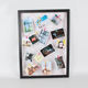 DIY Picture Frames 14 Color Clips Collage Set- Picture Hanging Wire Twine Cords Natural Wood Wall Mounts Clothespin Clips Frames