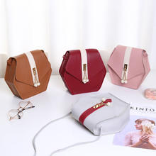 9F120 wholesale 2019 fashion pu leather sweet simple crossbody classic shoulder mini woman bag