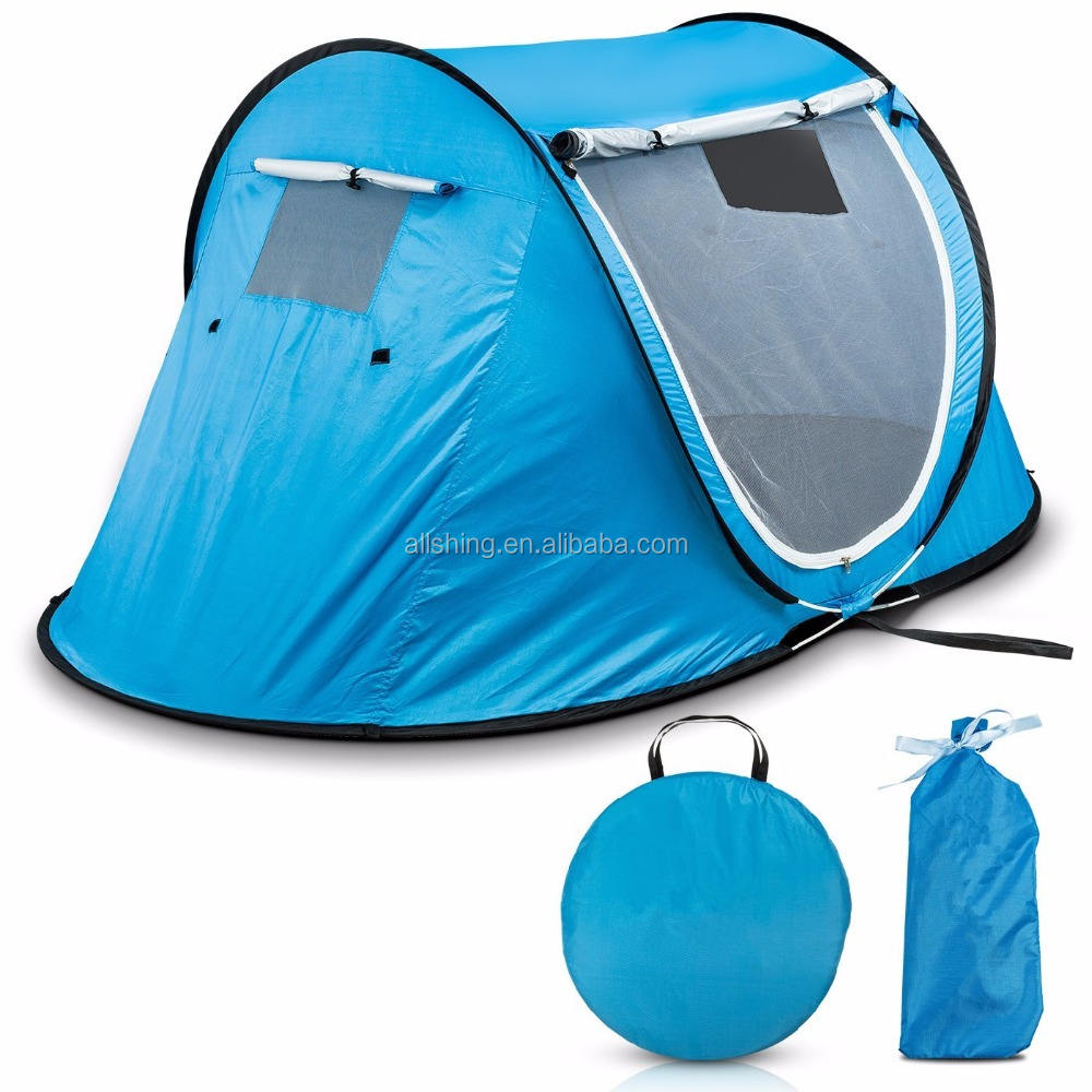 Wholesale Pop-up Tent An Automatic Instant Portable Cabana Beach Tent - Suitable For upto 2 People - Doors on Both Sides