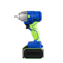China Mainland 21V Li-ion Rechargeable Brushless Electric Impact Wrench