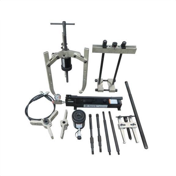 Fy-Light 5T Integral-Unit Hydraulic 3 Jaws Gear Puller Kit Jaw Puller Separator Hub Tool Kit