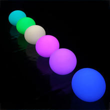 Multi color changing night light outdoor LED mood bowling ball
