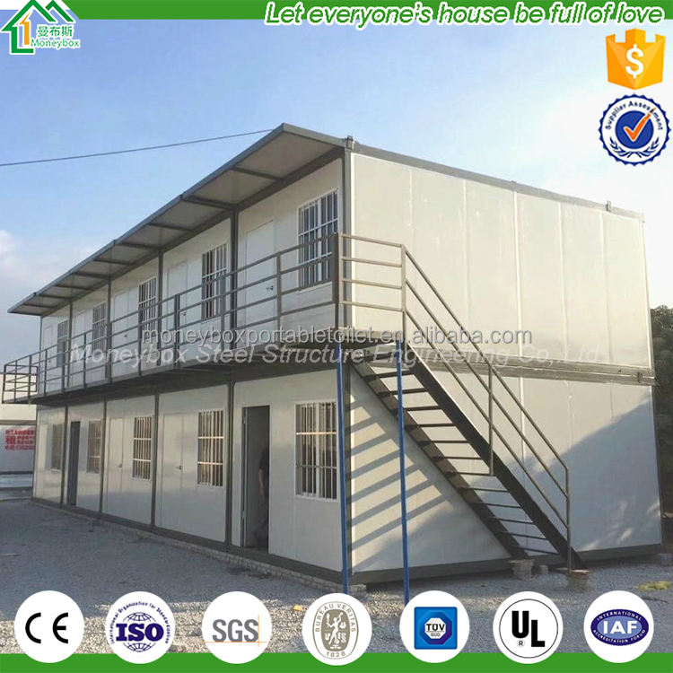 Oem/odmポータブルプレハブ住宅低コストプレハブユニークなモジュラー住宅用中国