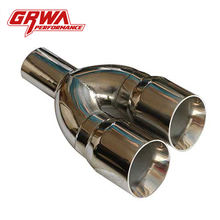 China Best Price Quality black bolt on exhaust tip pipe for diesel truck