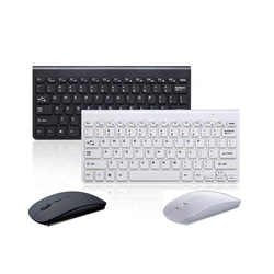 USB 2.4G Mini Wireless Keyboard and Mouse Combo Chocolate WK612