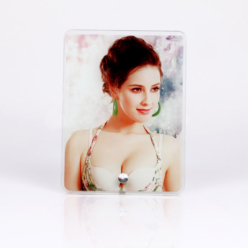 Maikesub Sublimation crystal photo frame heat transfer crystal for wedding gift/baby birthday