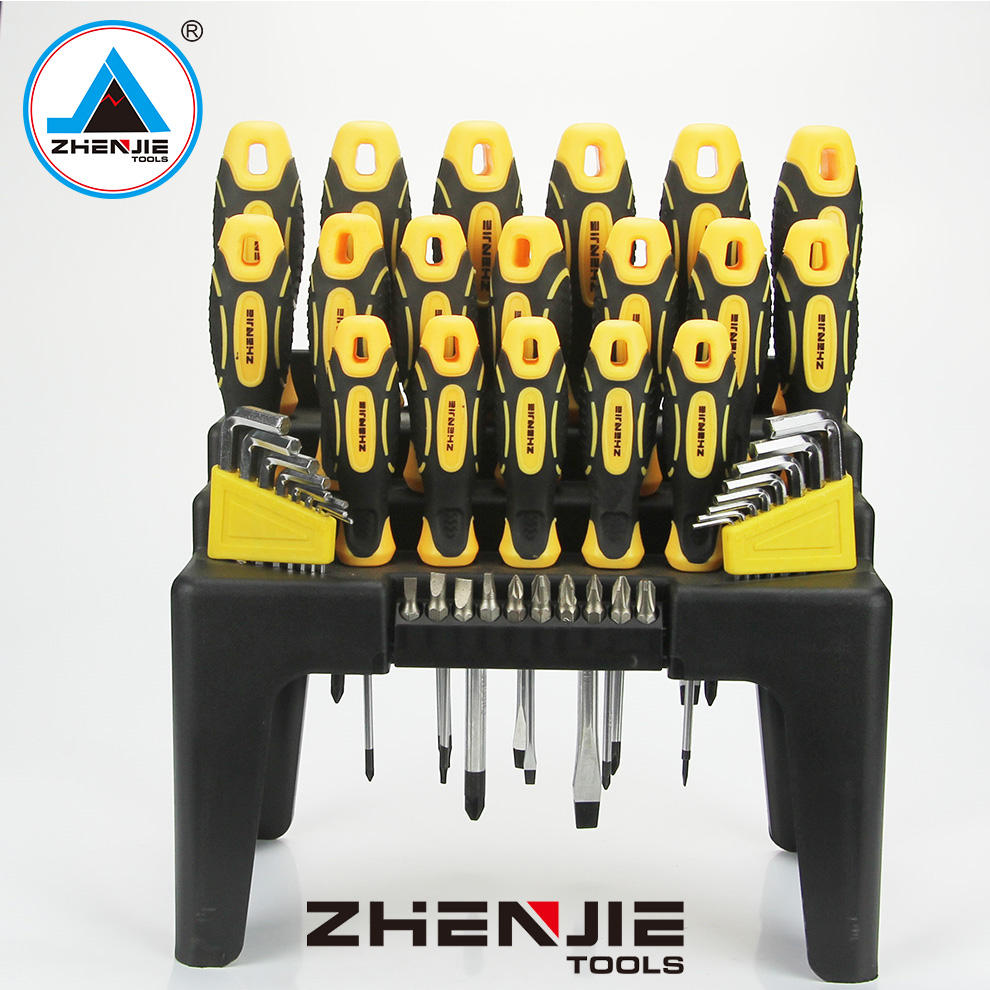 Slotted Magnetic Mulit High Quality Security Bit Chrome Vanadium Hammering Screwdriver Set