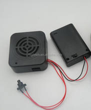 Recordable voice box with motion sensor