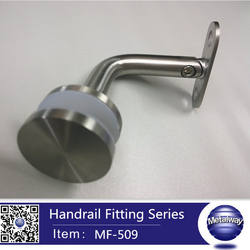 wall mounting bracket for balustrade handrail Stainless Steel Stair Handrail Bracket