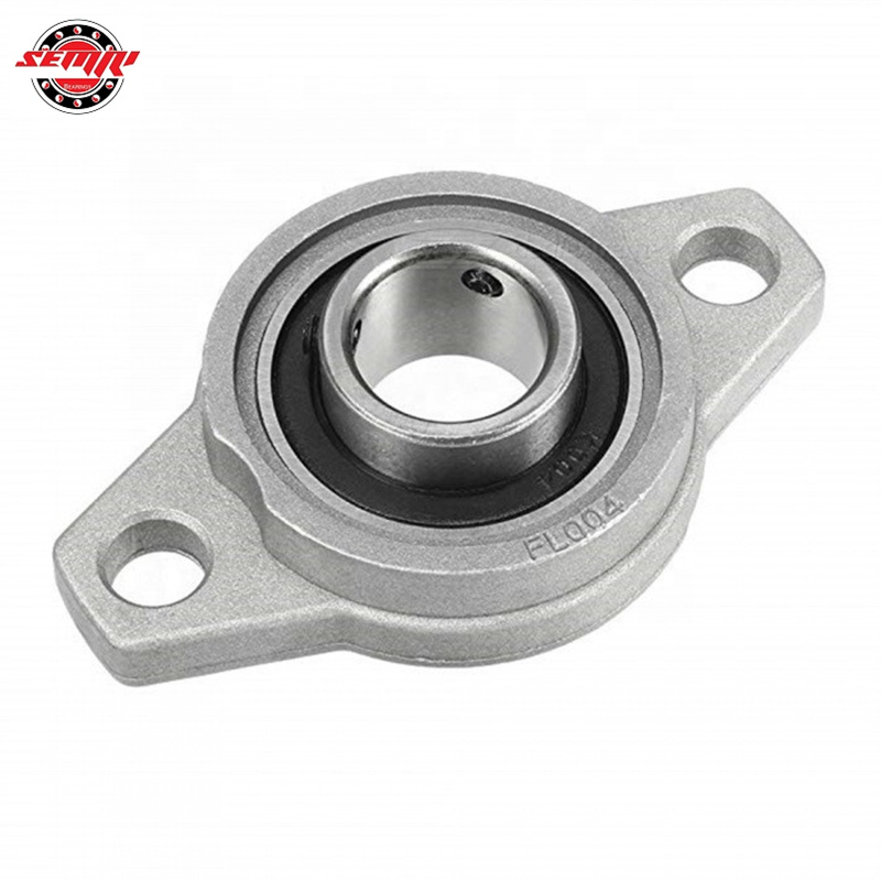 20 Mm KFL004 Miniatur Bantal Blok Mounted Flange Bearing