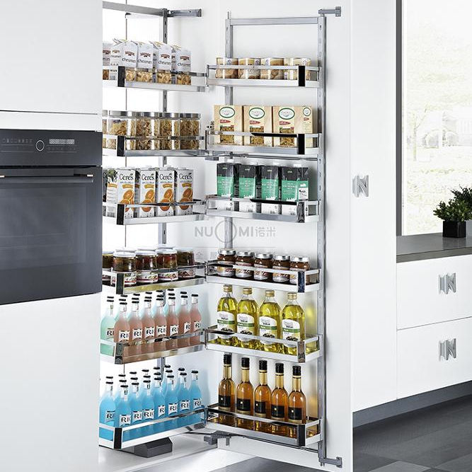 Kitchen hardware tandem pantry unit 450mm/600mm NUOMI Pantry
