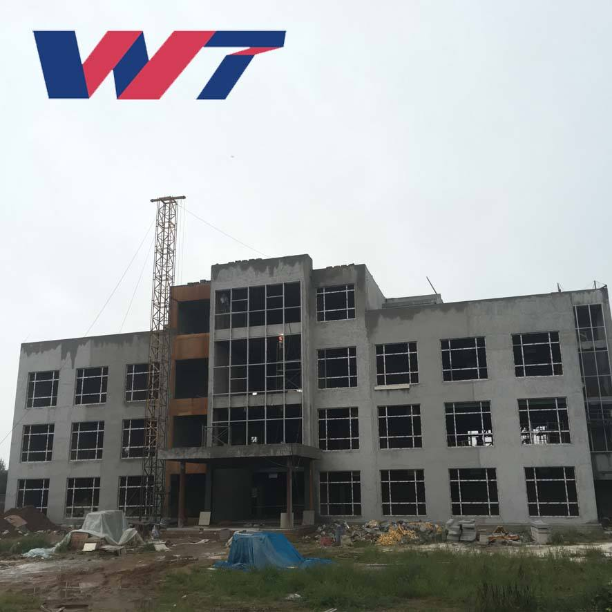Steel structure prefabricated hotel building for sale