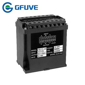 Three phase AC current voltage transducer