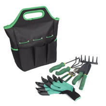 Multifunctional Garden Tools Set, 5 Piece Stainless Steel Tools