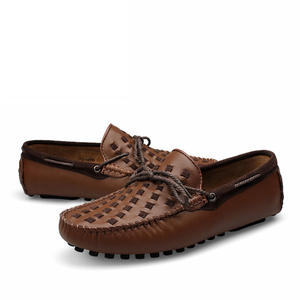 new design stylish men slip on moccasins custom you brand leather driving shoes for men