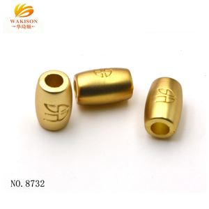 Factory Wholesale Gold Plating Metal Beads For Jewelry Making