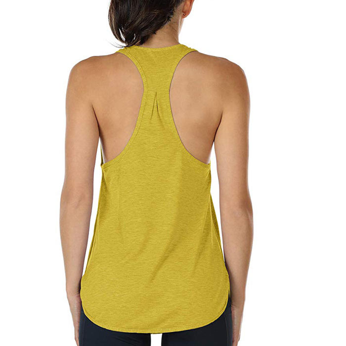 Frauen workout tank tops dame Sportlich Yoga Tops Racerback Lauf Tank Top