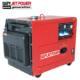 5KW Portable silent HONDA diesel generator