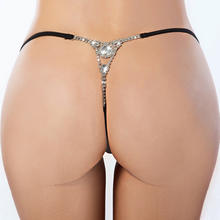 B31246A New arrival ladies transparent sexy lace thong