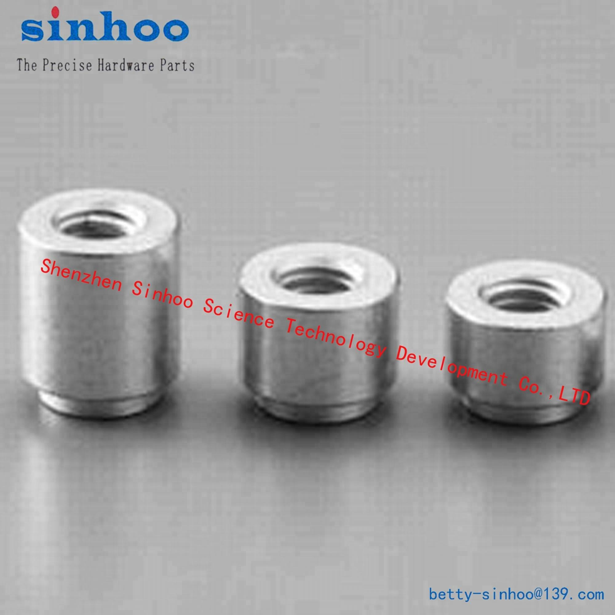 SMTSO-M2-5ET Surface mount wall mounted fasteners nut for auto mount