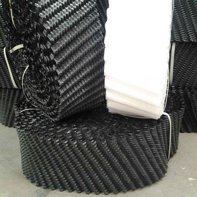 closed counter flow PVC cooling tower filler round type