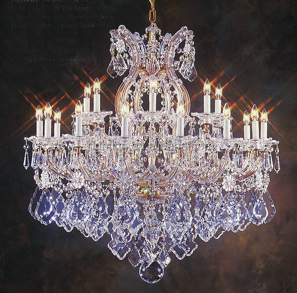 zhongshan lighting factory candle lamp living room light decoration pendant lights crystal chandelier