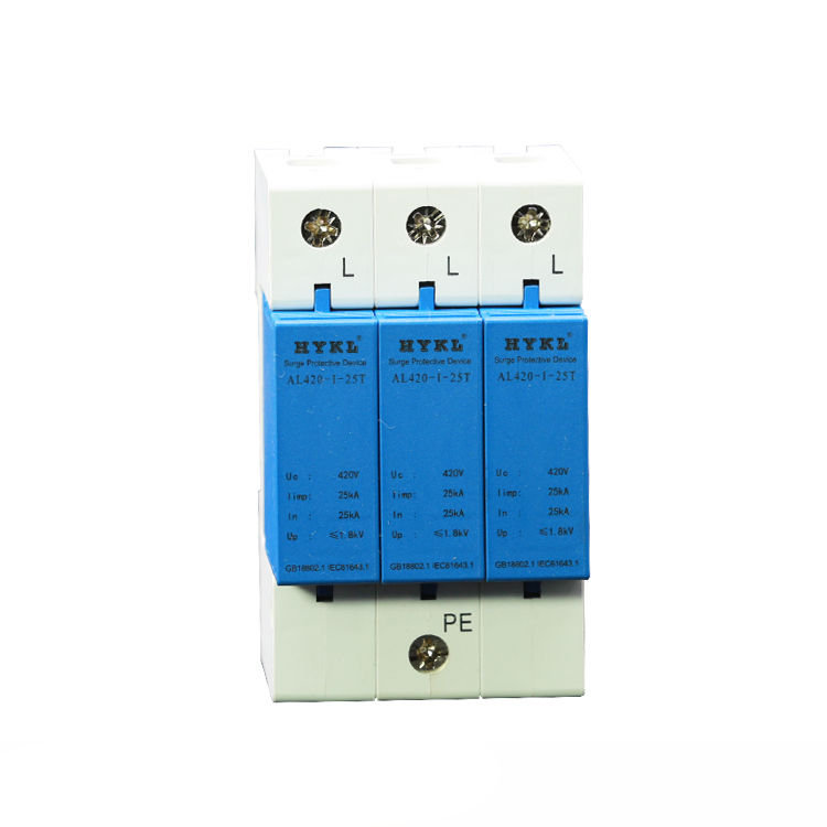 TYPE I waterproof 25KA 2p3p4p5p6p solar equipment surge protection device (PV SPD) RST 485
