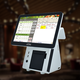 Pos Register With A Cash Register 15.6 Inch All In 1 Touch Screen Pos System/cash Register With 80mm Thermal Printer