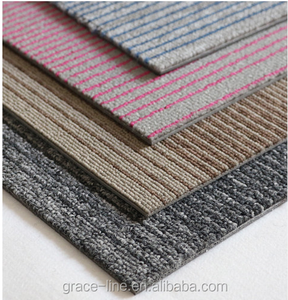 New Designed 50x50 nylon Carpet Tiles Rubber Backing Commercial Carpet Tiles