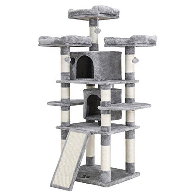 Durable Eco-friendly Cat Tree Stands With Swing Mouse