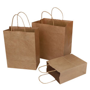 Wholesale Cheap Price Kraft Shopping Gift Paper Bag For Packaging