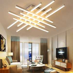 remote control of brightness and color-temperature led ceiling light fixtures 106 W
