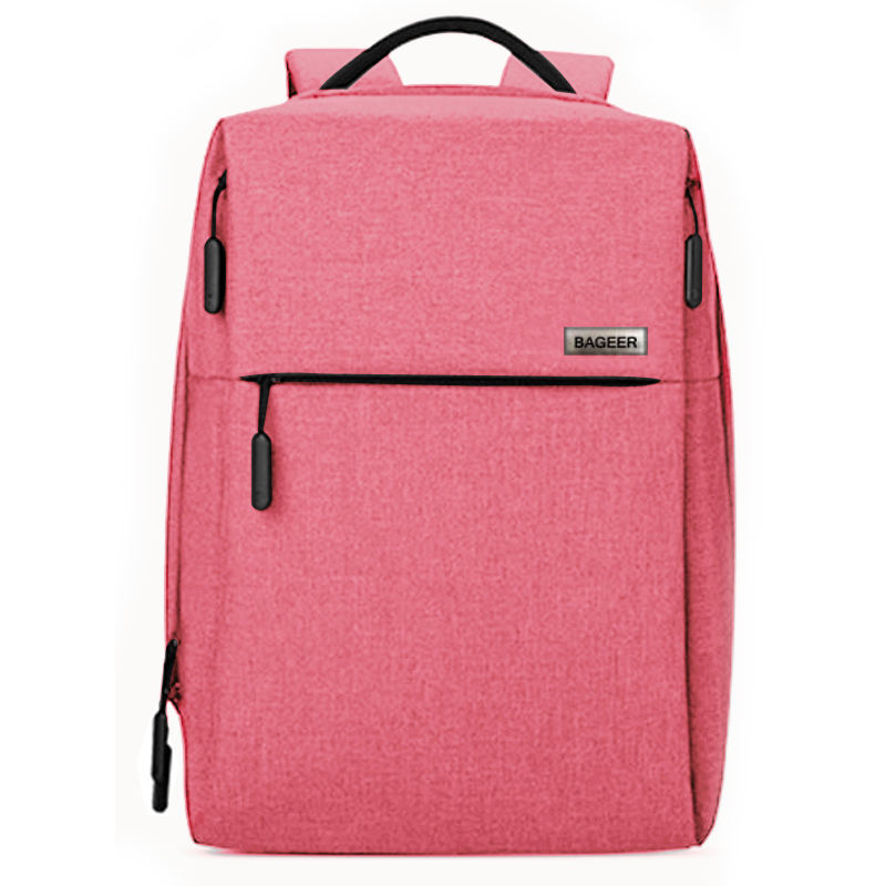 Girly Pink 견고한 Simple Branded 카메라 Laptop 측 Backpack Bags