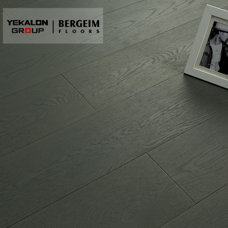 Oak Grey Brushed Sports Wooden Flooring Top Quality