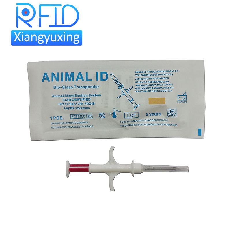 Bioglass Animal ID for Dog Cat Fish Tortoise Mouse Sheep ISO Icar RFID Implant Microchip