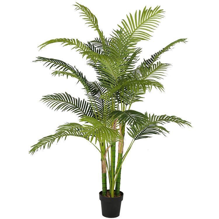China export 1.8 m enkele plastic mini palm kunstmatige Phoenix palmboom