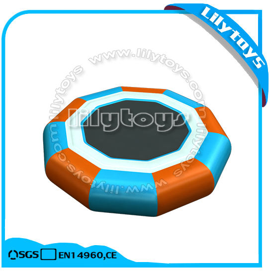 Sea floats water park equipment inflatable water trampolin