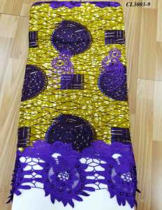 Nigerian women wholesale wax lace ankara african holland fabric for Christmas