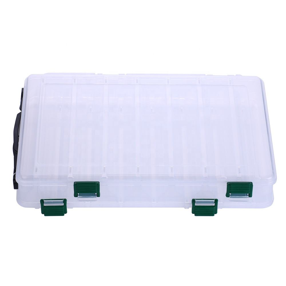 Hard Plastic Storage Case Box Plastic Fishing Lure Hook Bait Fishing Tackle Lure Box
