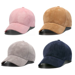 whole sale cap Promotion Cheap Fashion Fitted Winter Custom Suede Baseball Cap