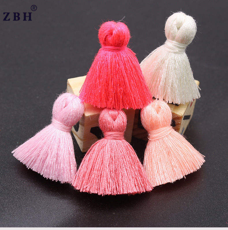 Factory wholesale 3CM Mini Short Tassel DIY Tassel