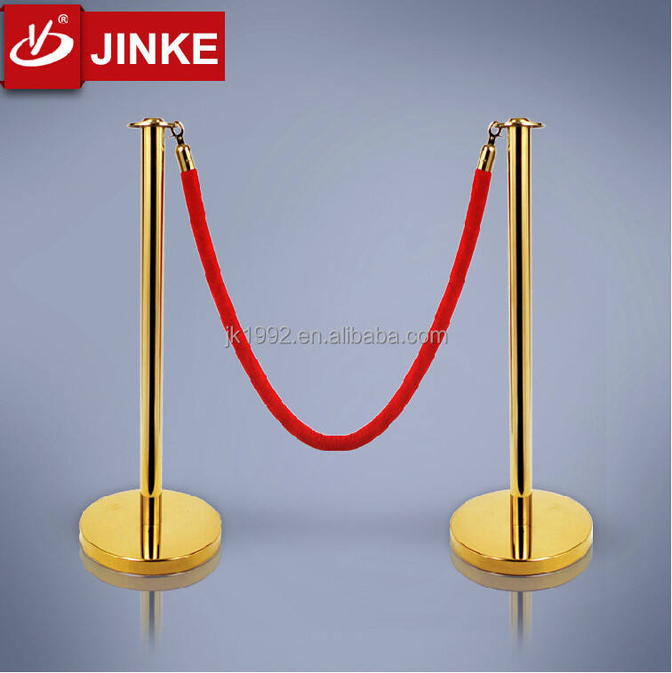 Red Carpet Portable Stanchion Pole Construction Barriers Stand